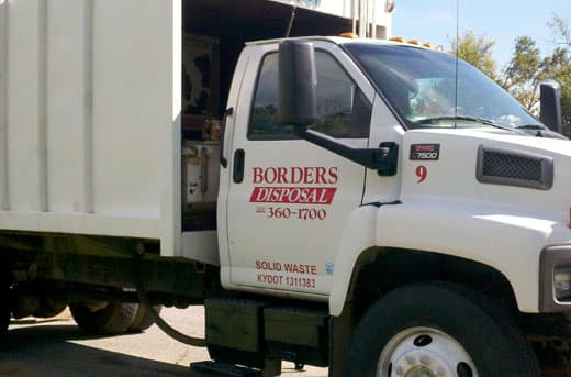 Borders Disposal